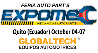 Techno Vector wheel aligners at EXPOMEC-QUITO fair 2018