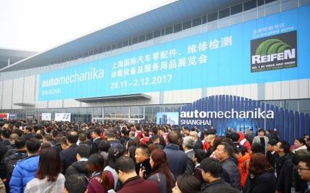 Techno Vector at Automechanika Shanghai 2017
