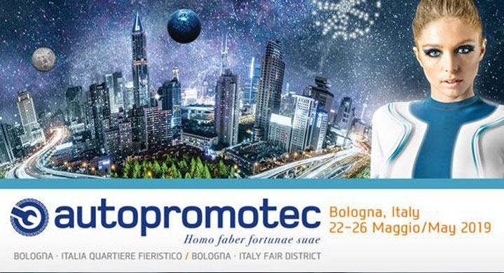"TECHNO VECTOR AT THE ""AUTOPROMOTEC"" EXHIBITION IN ITALY"