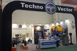 Techno Vector equipment at Automechanika Frankfurt Show in Germany