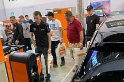 Techno vector at the ProfiAuto Show in poland